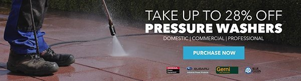 Pressure Washer Sale
