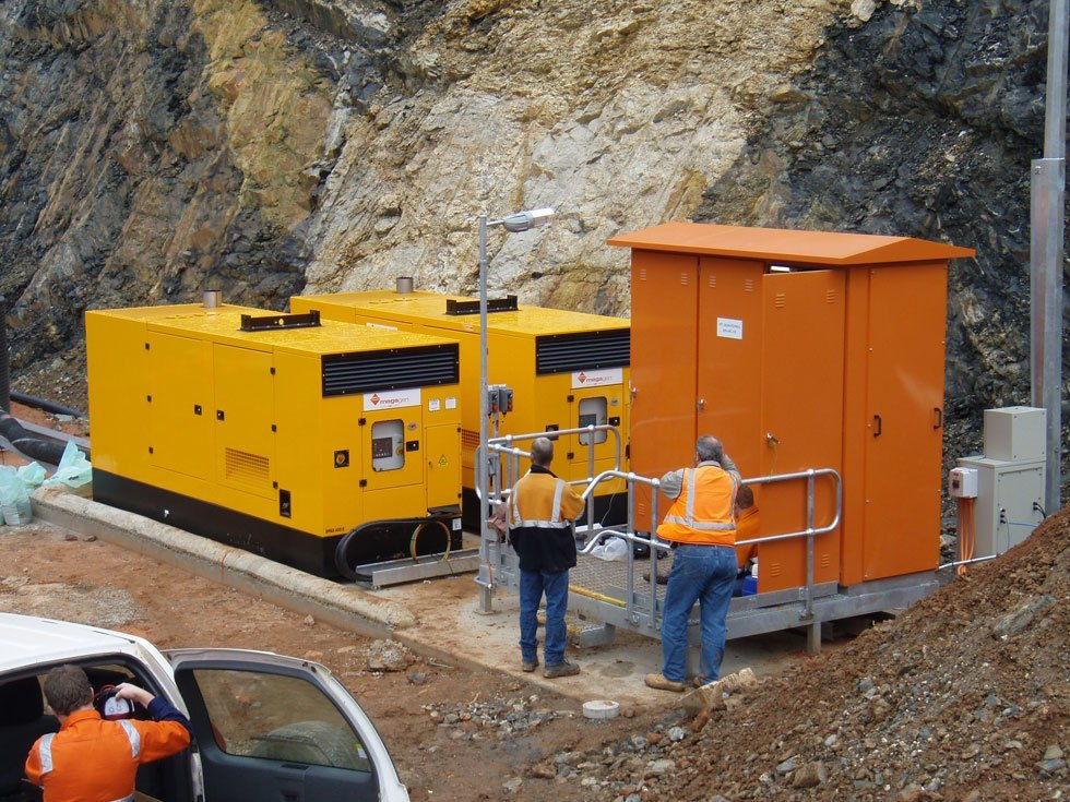 Diesel Generator in Mine