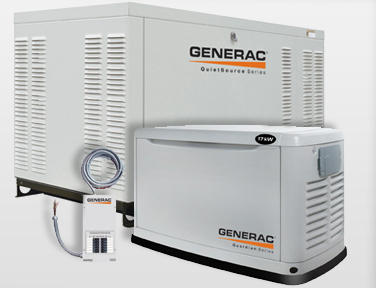 The Generac and Pramac ranges are especially designed for auto start back up power