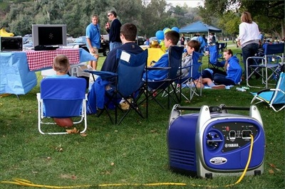 Yamaha Inverter Generators: great for recreation or mobile businesses