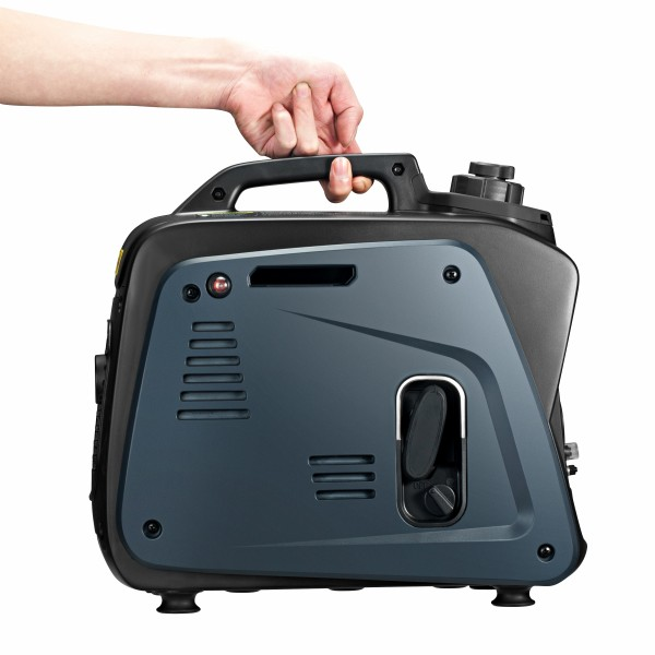 The Lectron EC800i inverter generator weighs only 8.5kgs!