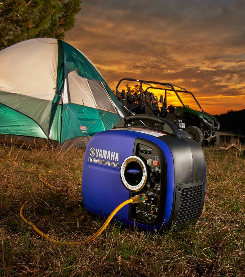 Christmas gift ideas for your dad: Yamaha 2000w Inverter Generator - a camping favourite