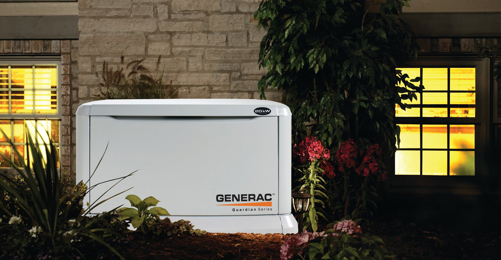 If the power ever goes out, your Generac standby generator goes on - automatically - protecting you and your home 24/7