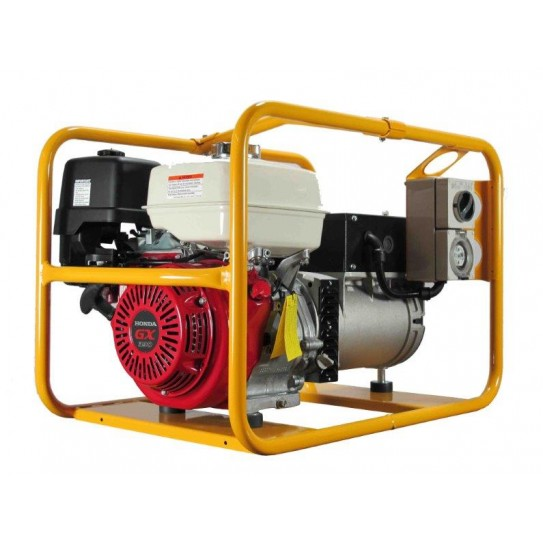 Powerlite 8kVA Three Phase Generator: Powered by Honda