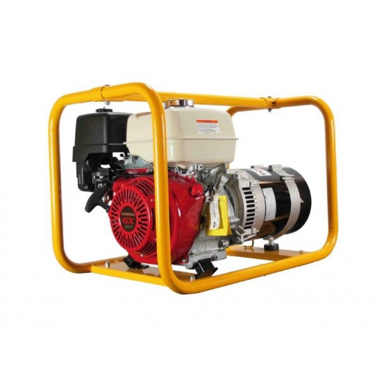 Generator for power tools: Powerlite 8kVA Generator powered by Honda: the recommended choice for trade and farm use.