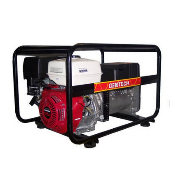 8kva Petrol Generator: The Gentech 8kVA Generator is also one of the most popular trade generators and is powered by the Honda GX390 engine
