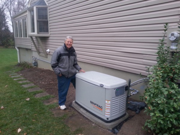 A Generac Gas Generator for Home Backup comes with an All-Weather Steel Enclosure and is also able to withstand 240 kph winds.