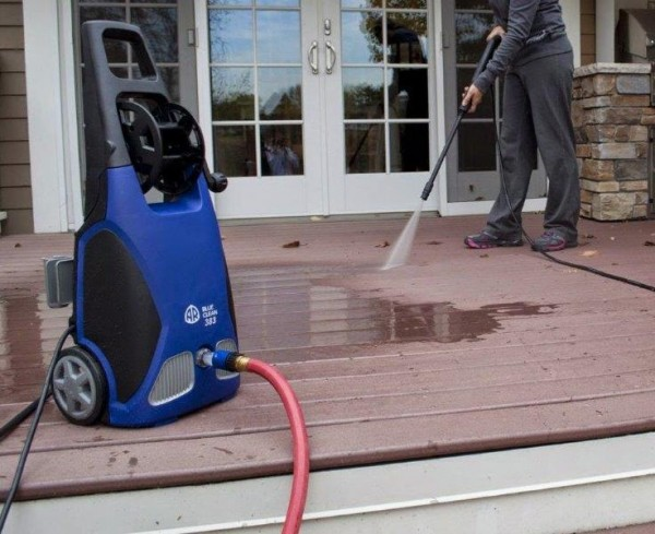 Domestic Pressure Washer can be used to clean everything around the home