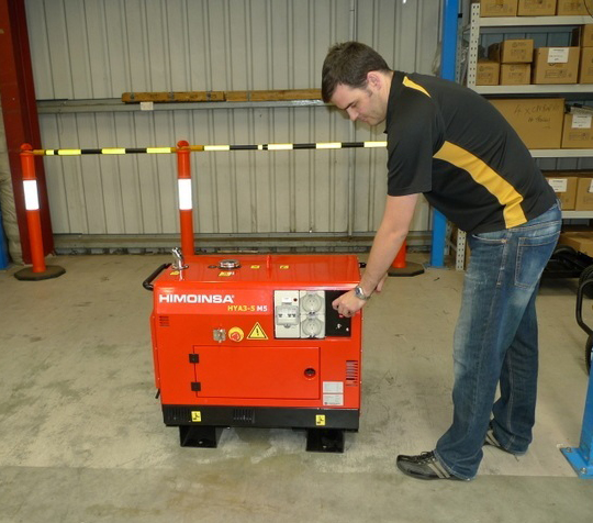 Himoinsa 5kva 'Mighty Mouse' Diesel Generator