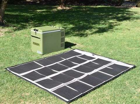 Solar Blanket and Portable Fridge
