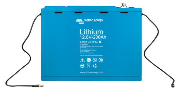 Victron LiFePO4 Lithium Battery 12.8V/200Ah-a - Smart