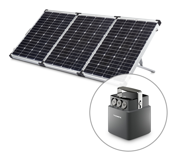 Dometic Camping Solar Panel Bundle
