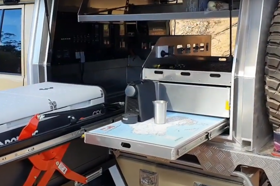 Make A Coffee In Your 4x4 Canopy With The Enerdrive Ultimate Off-Grid 4x4 Bundle & Epower Inverter
