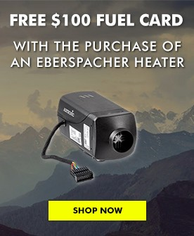 Eberspacher Heater Promotion