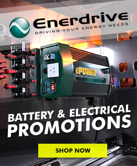Enerdrive Battery & Electrical Promotions