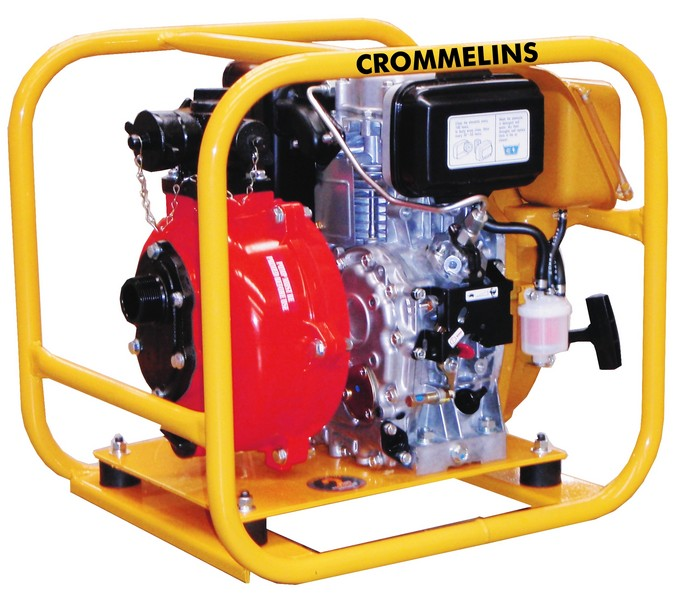 Crommelins Subaru Fire Fighting 1.5' Diesel Water Pump