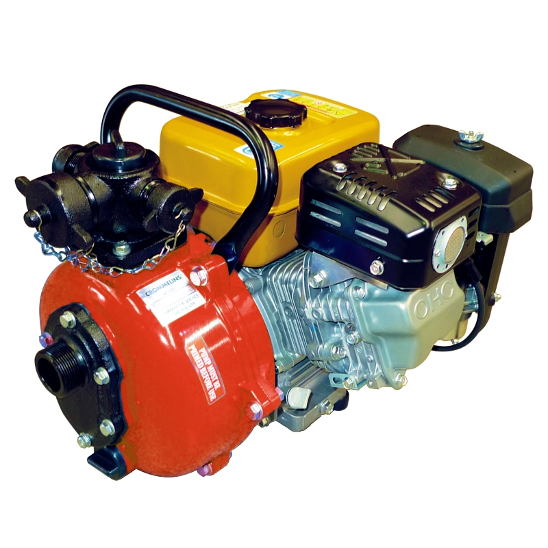 Crommelins Subaru Fire Fighting 1.5' Water Pump, 7hp