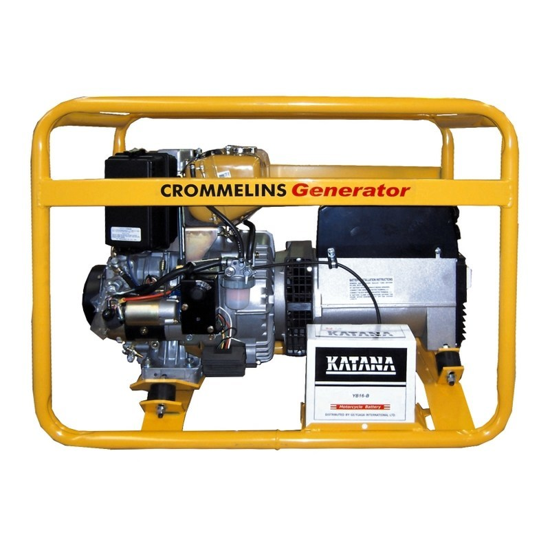 Crommelins 3 in 1 5kVA Welder Generator Workcover Approved