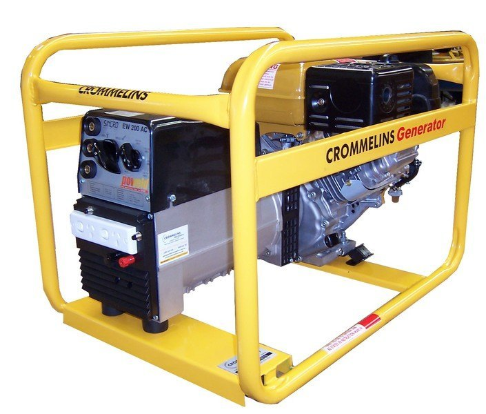Crommelins 3 in 1 7kVA Welder Generator Workcover Approved