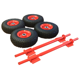 Genelite Pneumatic wheels x 4