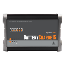 BMPRO 15A 12V Automatic Battery Charger