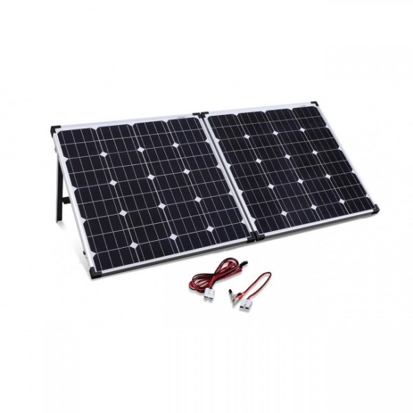 Camec Portable Folding 120 Watt Solar Panel Kit Rv Power Solar Lighting Caravan Rv