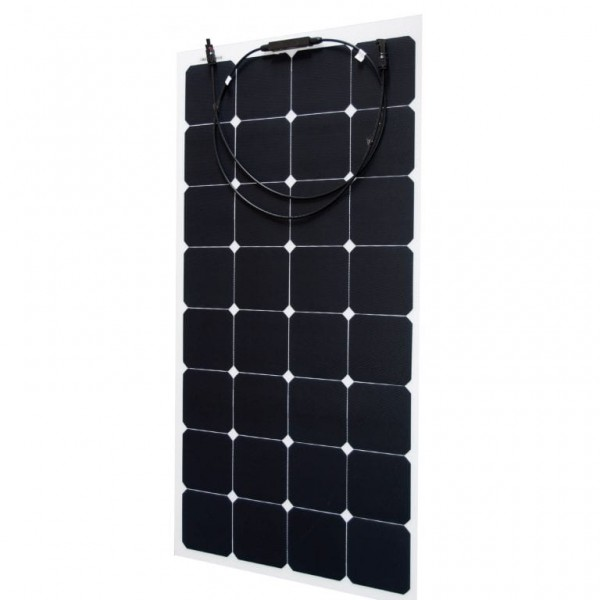 Baintech 110w Slimline Flexi Solar Panel Rv Power Solar Lighting Caravan Rv