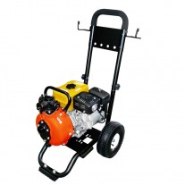 "Crommelins Robin Fire Fighting 1.5"" Water Pump, 6hp, with trolley"