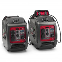 2 x Briggs & Stratton 2400w Inverter Generators with Parallel Kit (Combined 3300 Watts)
