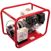 Genelite Honda 8kVA Generator Worksite Approved Portable Trade Generators