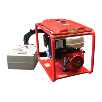 Genelite Honda 8kVA Generator Remote Start with Long Range Fuel Tank 15L