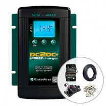 Enerdrive 40A DC to DC Battery Charger with Installation Kit