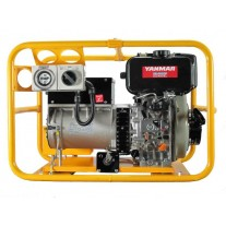 Powerlite Diesel 5kVA Electric Start, powered by Yanmar, 2 year warranty