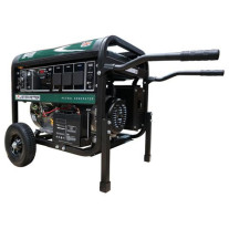 Gentech Petrol 8 kVA Lister Petter Portable Generator with E-Start
