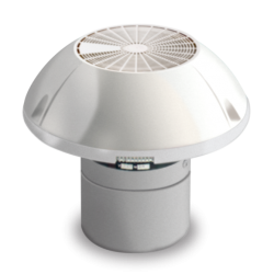 Dometic GY11 RV Roof Ventilator with Motor, Two Speed Fan
