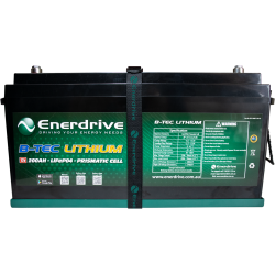 Enerdrive ePOWER B-TEC 200Ah Lithium Battery Only