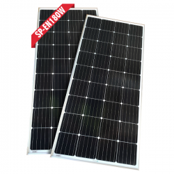 Enerdrive 2 x 180W Fixed Solar Panel, Twin Pack