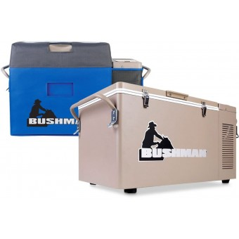 Bushman Portable Expandable Fridge 35L-52L inc. Cover