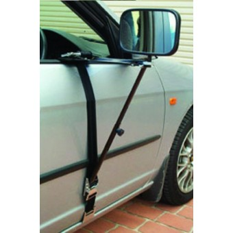Camec Heavy-Duty Door Towing Mirrors - 4WD & Camping