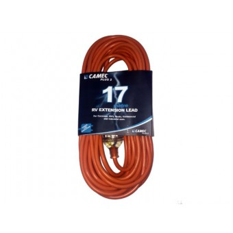 Camec 17m 15A RV Extension Lead - Extension Cords & Cables