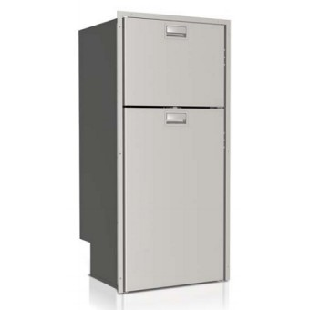 Vitrifrigo DP2600iX Stainless Steel 2 Door Fridge & Freezer 230L - Caravan Compressor Fridges