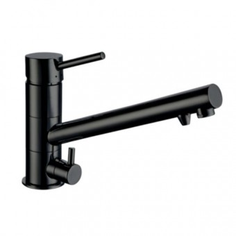 Camec 3-Way Sink Mixer - Black - Caravan Sinks & Taps