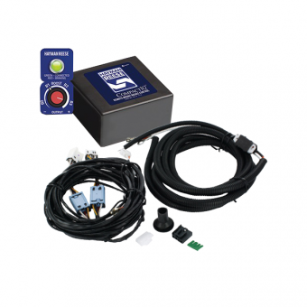 Hayman Reese 12V Compact IQ Brake Controller Pack with Harness - Towing & Braking Accessories
