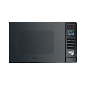 NCE 25L Black Stainless Steel Microwave - Caravan Microwaves