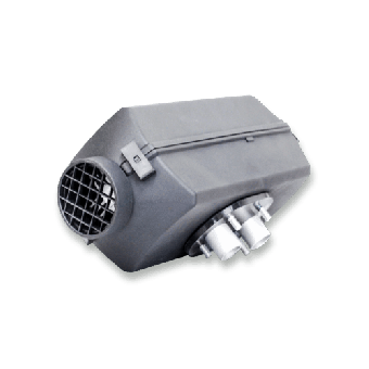 Autoterm Diesel Air Heater 24Volt 2kW Kit With Rotary Controller - 2D24Pu5 - Caravan Heaters & Hot Water Systems
