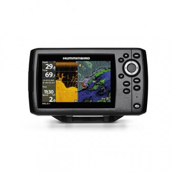 Humminbird Fish Finder Helix 5X Chirp DI GPS G2 with Navionics card - Fish Finders