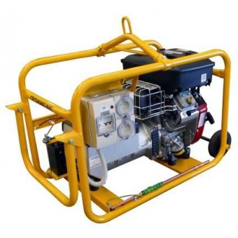 Crommelins 7.5kVA Generator Worksite Approved Petrol - Root Catalog