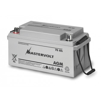Mastervolt AGM 12V 70Ah Battery - Boating & Marine