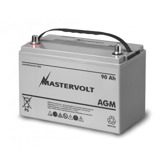 Mastervolt AGM 12V 90Ah Battery - Boating & Marine
