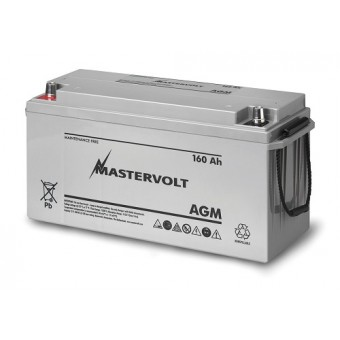 Mastervolt AGM 12V 160Ah Battery - Root Catalog